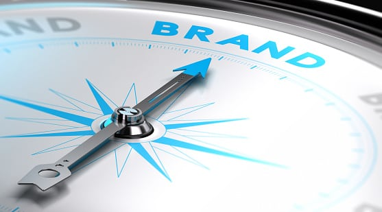 compass pointing to your brand