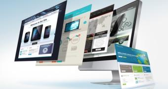 graphic design and digital media screens